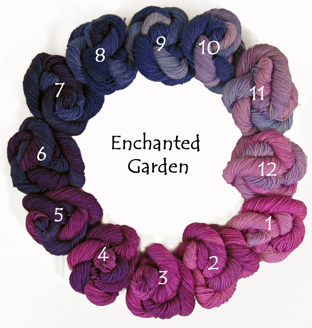 Enchanted Garden (circle)