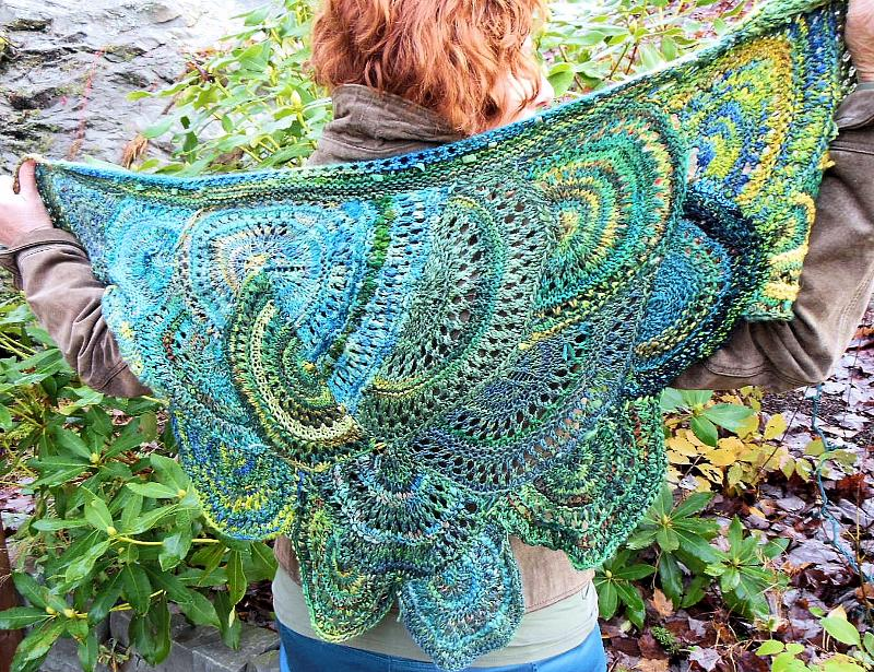 Inner Circles Pattern Designed By Jane Thornley Earthfaire