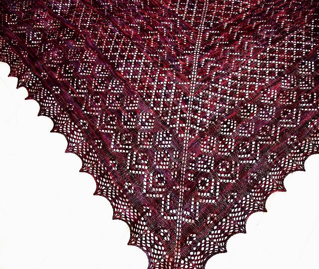Elizabeth Shawl Pattern By Dee O Keefe Earthfaire