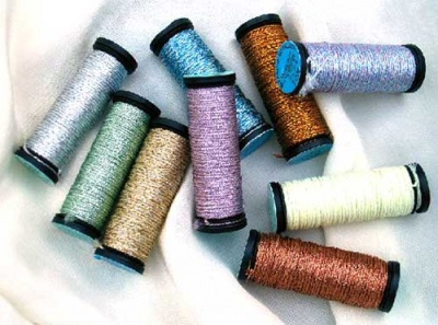 Metallic Threads/ Tapestry Braid #12/ 10m Spools - Threads and Wire
