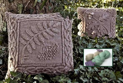Celtic Oak or Rowan Pillow Kits