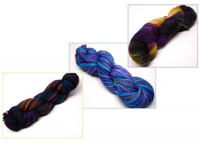 Orphan Skeins:  Assorted Fingering Weight - Kits