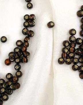 Silver Lined Root Beer Miyuki 8/0 Seed Beads - Size 8/0