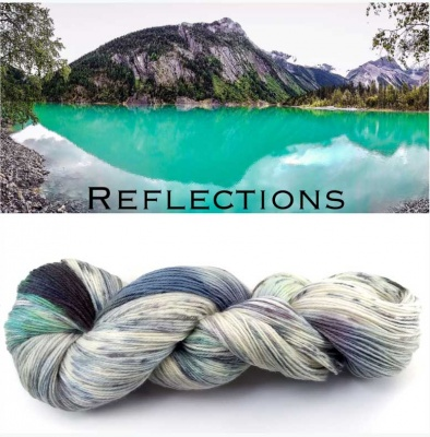 ArtYarns Inspiration Club: January: Reflections - Fingering/Sock weight