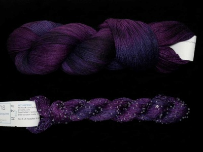 ArtYarns Merino Cloud + Beaded Silk & Sequins Light: #H24