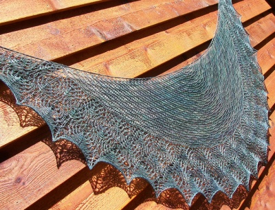 Aase's Shawl Pattern/ by Kristi -