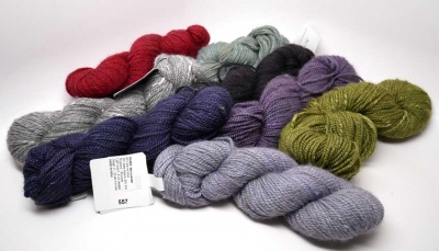 Orphan Skeins: Acadia From The Fibre Company