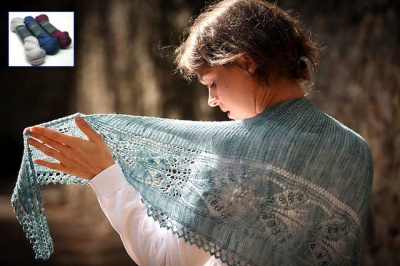 Aglow/ Beaded Shawl Kits