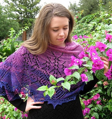 Aliseda Shawl/ Beaded Design by Susanna IC/ Pre-Orders - Clubs