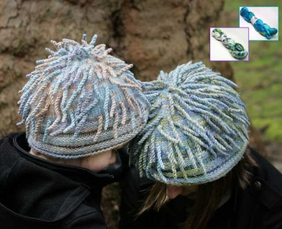Anemone Hat/ 2 Speckled Colorways