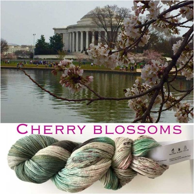 ArtYarns Inspiration Club: March: Cherry Blossoms