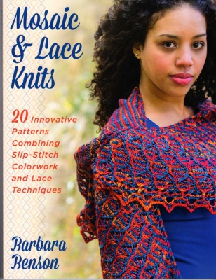 Mosaic & Lace Knits/ Book by Barbara Benson - Books + Magazines