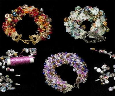 Bead Soup Bracelet Kit/ Original/ Random or Custom - Jewelry Creations