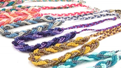 Bella Braid Necklace Kit: 3 Color Choices - Jewelry Creations