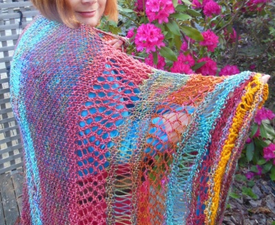 Bohemian Sundance/ Shawl Pattern by Jane Thornley -