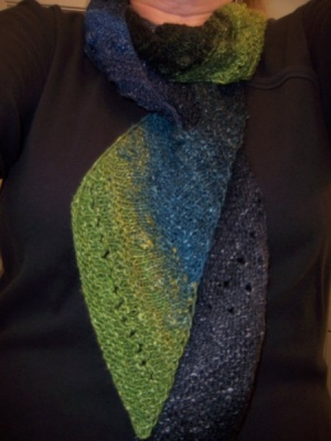 Scarf Du Jour/ Pattern by Catie - Scarves and Cowls