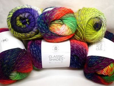 Universal Yarn: Classic Shades: Neon Hues + Pattern Suggestions