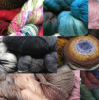 Chromatic Mystery Grab Bags - Fingering/Sock weight