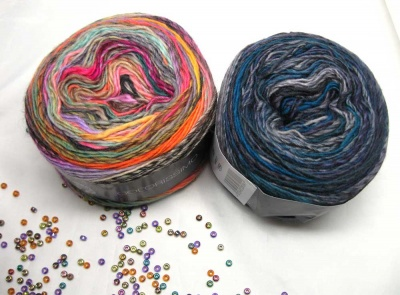 Colorissimo: Yarn with Bead Option
