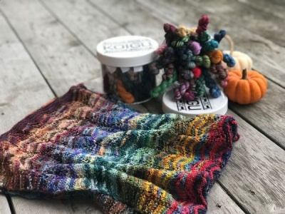 Koigu Cookie Jar + Cowl Pattern