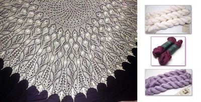 Crystal Dew Shawl/ Beaded Kits