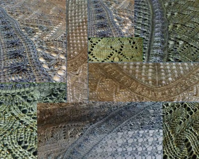 Dance of the Dryads/ Beaded Shawl/ Pre-Orders - Clubs