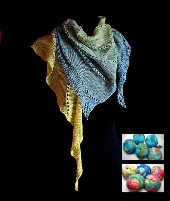 Dangling Conversation: Beaded Kits in Cotton or in Wool - Kits
