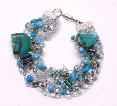 Birthstone Bracelet: December Turquoise - Jewelry Creations