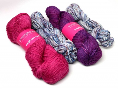 Kit #2 (your kit will have one skein of each)