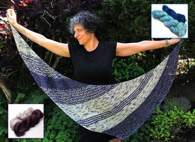Drawing Board Shawl/ Beaded Kits