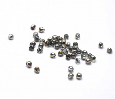 Crystal/ Marea : Drop Beads 3.4mm -