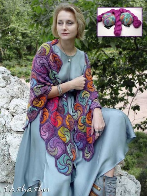 English Garden Shawl Kit