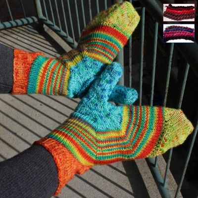 Unicorn Tails: Choose for Fade Out Mitts
