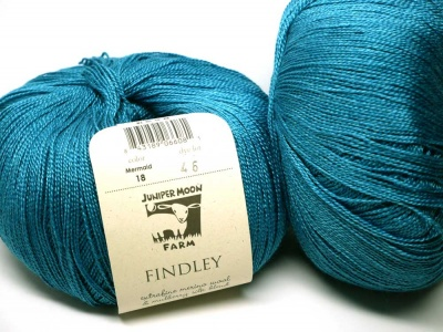 Findley Yarn, colorway is Mermaid