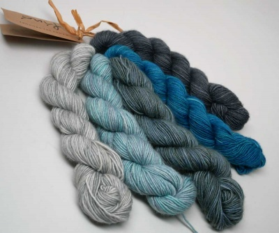 Orphan Skeins Set of Fino:  Augusta