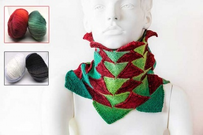 Fir Cowl/ Kits for Free Pattern!