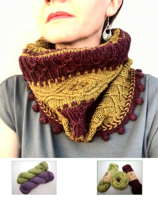 Firenze Cowl: Kits in Moonshine