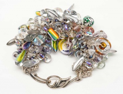 Bead Stew Bracelet/ Frozen Colors - Jewelry Creations