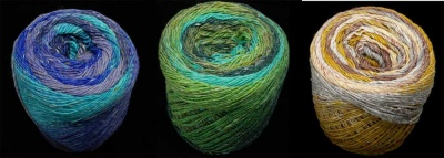Geshi from Noro: 3 More Colorways