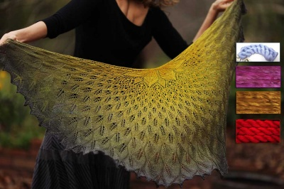 GoldenLeaf:  Beaded Kits in 100% Silk