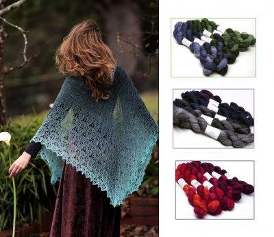 Heart of Winter/ Beaded Kits with TUS Gradiance Sets in Verve