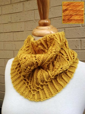 Henrietta Silverdale Cowl: Yarn Kit - Worsted Weight and Up