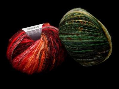 Huenique:  Two Colorways - Worsted Weight and Up