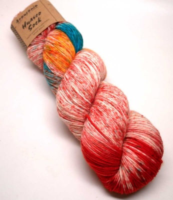 Orphan Skeins: Huasco Sock Hand Painted/ Inti Raymi -