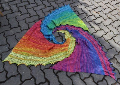 Iridescence Shawl/ In Stock Kits