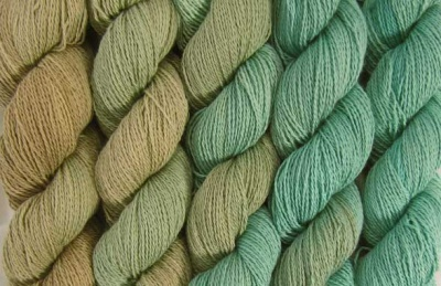 Island Breeze (your kit will consist of the colorway dyed across six skeins)
