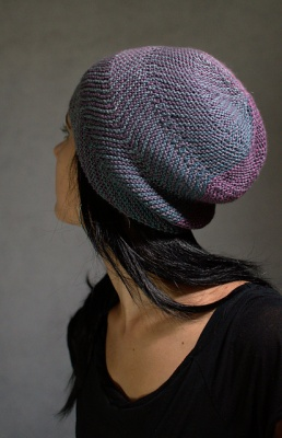 Juxta, as knit in a different colorway.