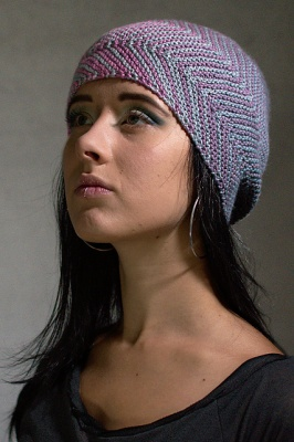 Juxta as knit by Woolly Wormhead, © Woolly Wormhead