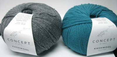 Kashwool:  Teal or Grey