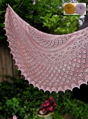 Kassiani Shawl : Kits with Bead Option